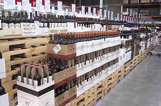Costco Wine Department