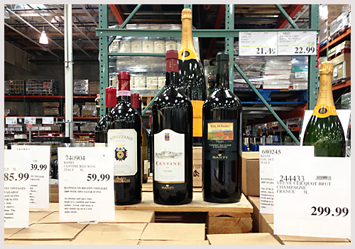 Costco sells large format wines
