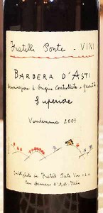 Fratelli Ponte Barbera from the Piedmont region of Italy. Found at Weimax