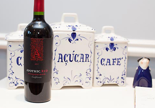 image of Apothic Red wine bottle