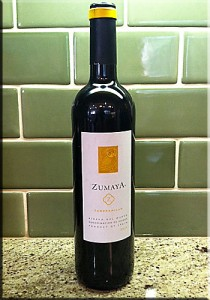 image of Zumaya Tempranillo