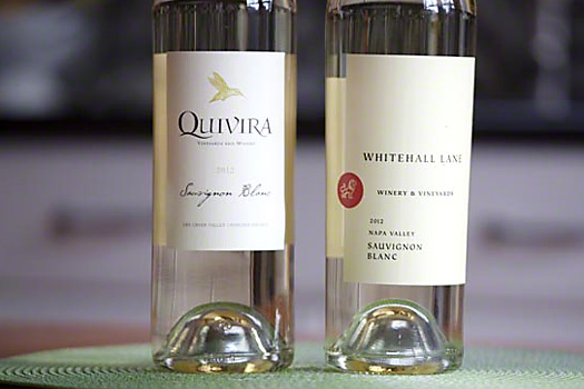 image of Quivira and Whitehall wine