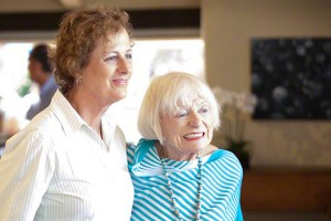 Genevieve Jennsons with Margrit Mondavi